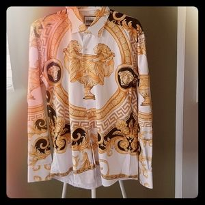 Other - Versace Inspired   mens button down shirt
